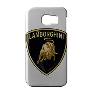 WWAN 2015 New Arrival lamborguini logo 3D Phone Case for Samsung S6