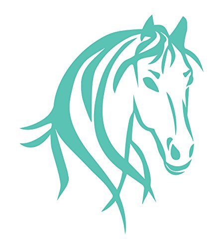 - Horse Head Wall Art is a Large INDOOR Vinyl Sticker Poster Gift (22