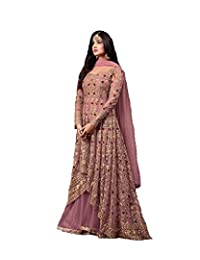 e3ad880554 Women's Anarkali Salwar Kameez Designer Indian Dress Ethnic Party  Embroidered Gown