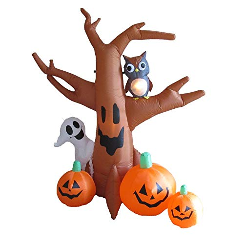 Cosmos eStore Halloween Inflatable Haunted Tree with Ghost