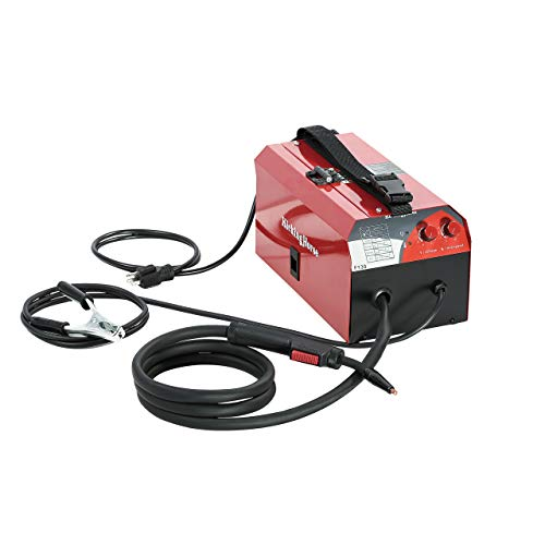 KickingHorse F130 UL-Certified Flux Core Gasless MIG Welder 120V. 130A High Efficiency IGBT Inverter Run-off 15A/20A US Home Circuit Breaker. Ideal for Beginners and Home Maintenance/Renovation