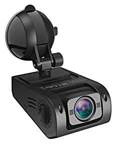 TaoTronics VAVA Dash Cam with 1080P 30fps 5 Lanes Wide Angle Lens, Dashboard Camera Recorder, Sony G-Sensor, WDR, Loop Recording, Night Vision, Dual USB Port Charger