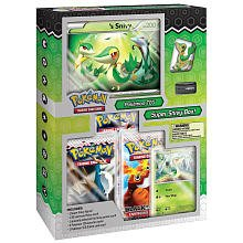 Pokemon Cards - Black & White Super Snivy Box (Jumbo Card,Figure,Holos & Packs)