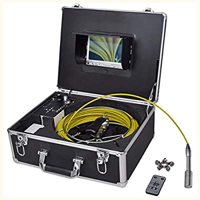 K&A Company Pipe Inspection Camera with DVR Control Box 98.4' Wire