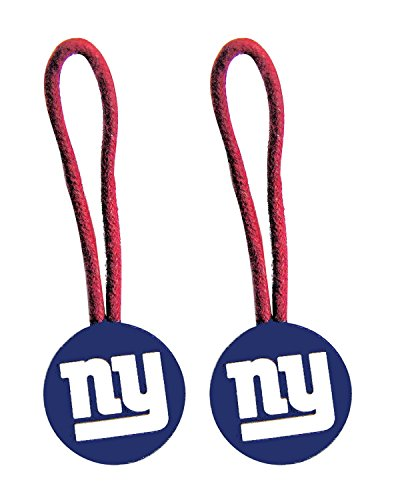 New York Giants Zipper Pull (2-Pack)