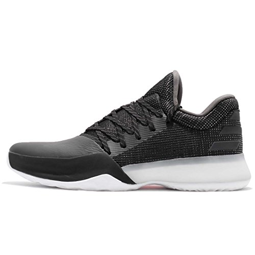 adidas Harden Vol. 1, Scarpe da Basket Uomo Nero (Negbás/Carbon/Roalre 000)