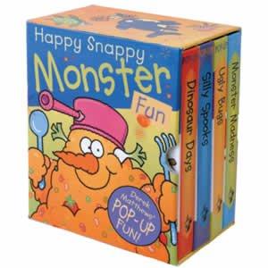 Happy Snappy Monster Fun Derek Matthews