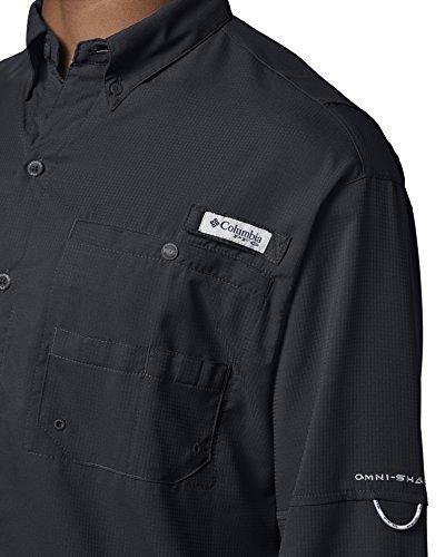 Columbia Men's Plus Tamiami II Long Sleeve Shirt, Black - 2X Big by Columbia (Image #5)