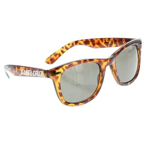 Santa Cruz Unisex Strip Sunglasses, Tortoise, One - Sunglasses Santa Cruz