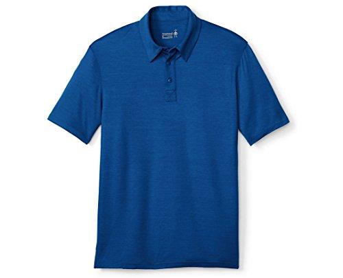 Smartwool Men's Merino 150 Pattern Polo (Dark Blue) X-Large