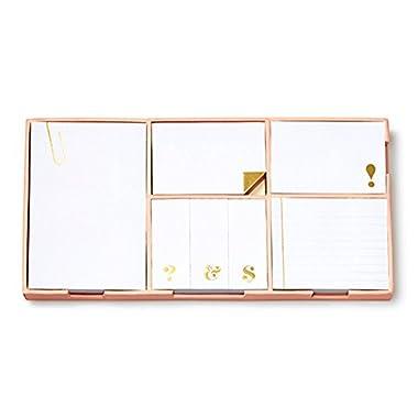 kate spade new york Sticky Note Set, Strike Gold