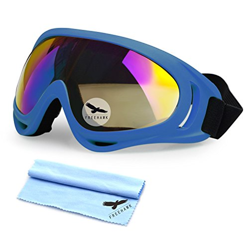 Freehawk Motorcycle Goggles UV Protection Adjustable Outdoor Glasses Dust-proof
