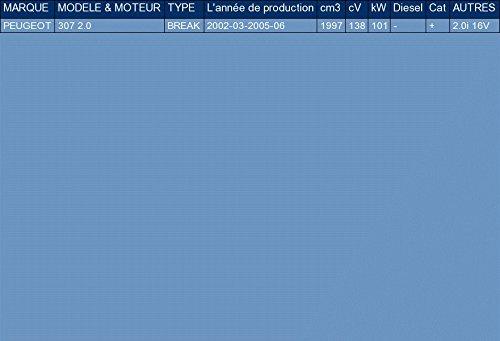 ETS-EXHAUST 2578 Silenziatore marmitta Posteriore pour 307 2.0 FAMILIARE 138hp 2002-2005