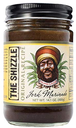 The Shizzle Original Jerk Seasoning Marinade, 14 oz