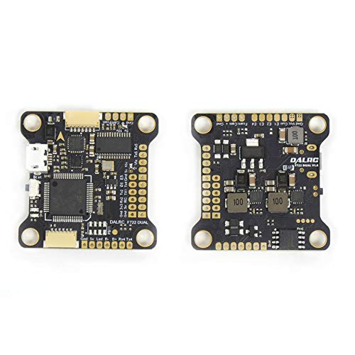 DALRC F722 Dual MCU STM32F722RGT6 Flight Controller Built-in OSD BEC 5V 12A MCU6000&ICM20602 Gyors for FPV RC Racing Drone