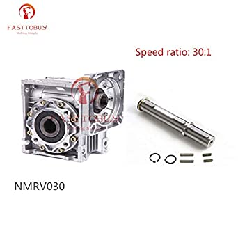 Double Output Shaft RV30 RV40 Worm Gear Speed Reducer Keyed Single
