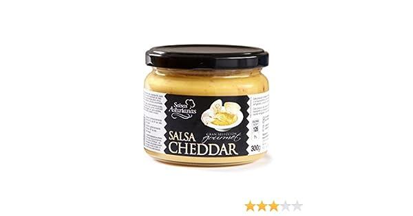 Salsas Asturianas Salsa Cheddar - 300 gr: Amazon.es: Alimentación y bebidas