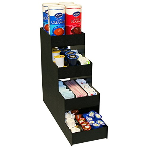 Coffee Organizer with 10 Compartments and 6 Movable Dividers, At One Great Price!. Proudly Made In The USA! by PPM by Plastic & Products Marketing PPM