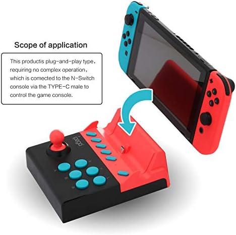 Mini Arcade Stick para Nintendo Switch, Mini Bastón de Lucha para Nintendo Switch Juegos de Lucha: Amazon.es: Electrónica