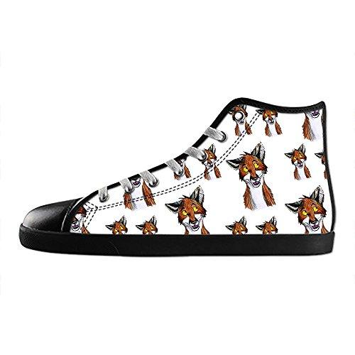 Sopra Scarpe I Shoes di Lacci Scarpe Tela Fox Canvas Le Scarpe Scarpe in Dalliy di Custom da delle Ginnastica Alto Men's xTXWqP