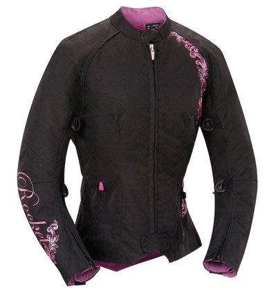 Joe Rocket Ladies Heart Breaker 2.0 Motorcycle Jacket Black-Purple-Pink 2XLarge