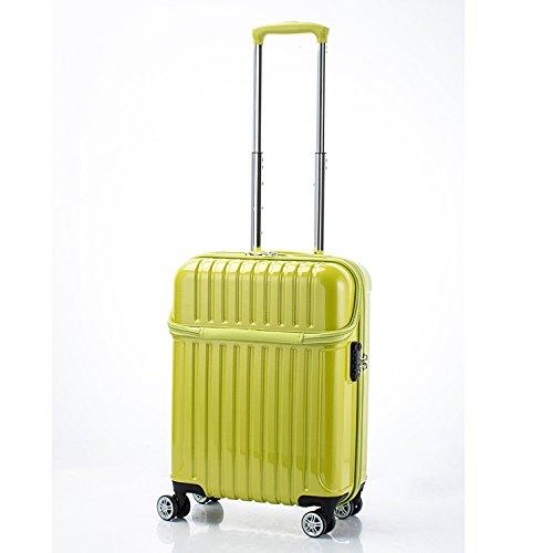 アクタス トップオープン ジッパーハード 33L スーツケース 74-20317 ライムカーボン [並行輸入品]   B0782TJ8JK