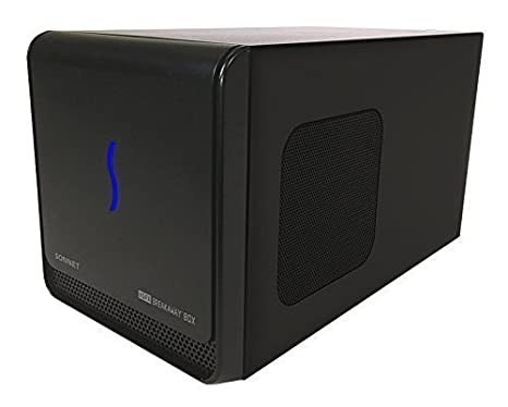 Sonnet Technologies GPU-350W-TB3Z eGFX Breakaway Box - Tarjeta gráfica, Negro