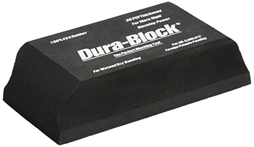 Dura-Block (AF4401) Black 1/3-Sanding Block