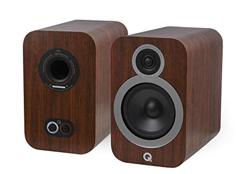 Q Acoustics 3030i Bookshelf Speaker Pair (English Walnut)