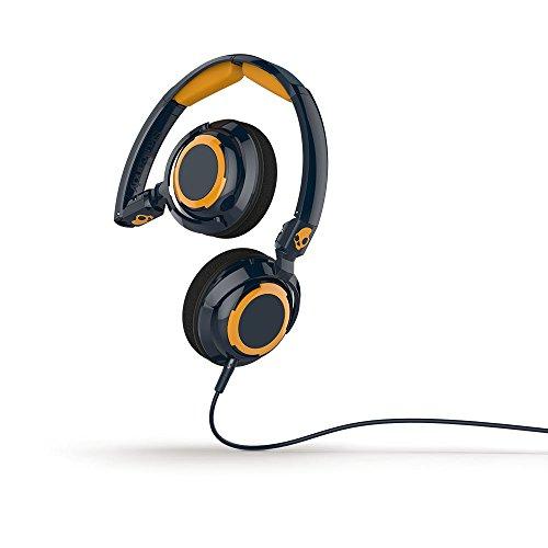Skullcandy Lowrider Headphones - Navy/Gold