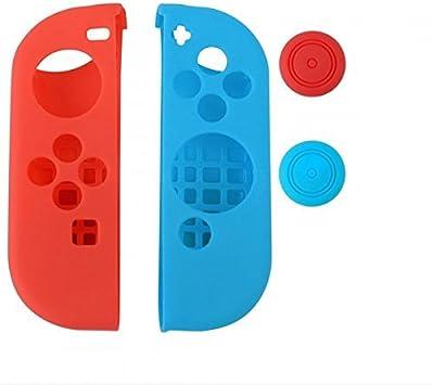 MPTECK @ Joy Con Silicona Funda para Nintendo Switch (Izquierda ...