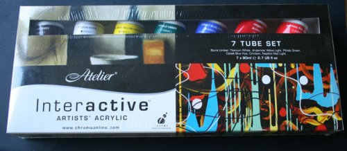 Chroma Atelier Interactive Artists' Acrylic Set of (Blick Artists Acrylic)