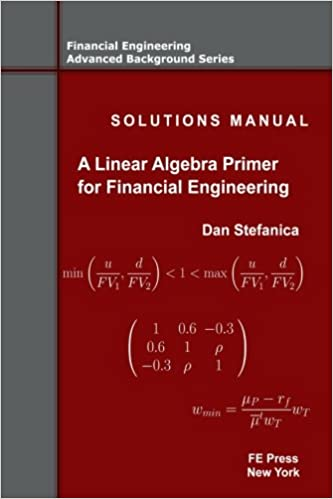 Solutions manual a linear algebra primer for financial solutions manual a linear algebra primer for financial engineering financial engineering advanced background series volume 4 dan stefanica fandeluxe Image collections