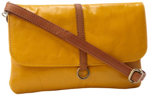 Latico Lidia 7981 Cross Body,Gold/Tan,One Size, Bags Central