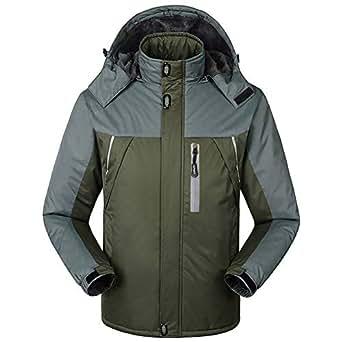 Amazon.com: Men's Outdoor Ski Jacket, S.Charma Windproof