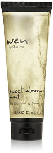 WEN by Chaz Dean Wen Sweet Almond Mint Anti-Frizz Styling Creme, 4 Fl Oz from WEN by Chaz Dean