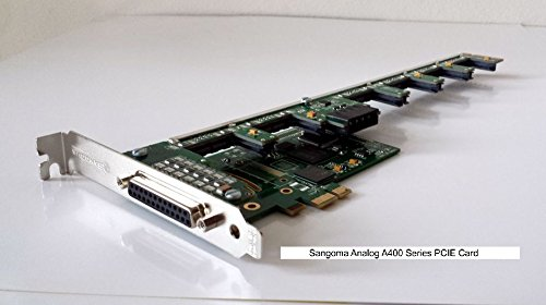 Sangoma A40502E 10FXS 4FXO analog card - - Pci Analog 4fxo Card