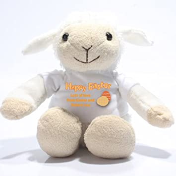 Personalised easter lamb soft toy alternative easter gift ideas personalised easter lamb soft toy alternative easter gift ideas negle Images