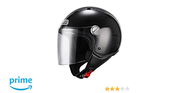 NZI 150263G003 Capital Visor Casco de Moto, Color Negro, Talla XL(60)