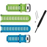 Garmin 910XT Blue & Green Band Kit