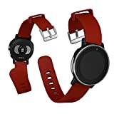 """Acer Leap Ware Fitness Watch - Water-Resistant, Activity Tracker, Heart Rate Monitor with Connected GPS, UV Sensor, 1"""" Transflective Color Display; Compatible with Bluetooth, Android, & iOS - Red"""