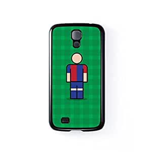 Genoa Black Hard Plastic Case for Samsung? Galaxy S4 by Blunt Football European + FREE Crystal Clear Screen Protector
