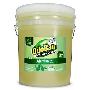 OdoBan 9110625G Concentrated Odor Eliminator, Eucalyptus, 5 gal Pail by OdoBan