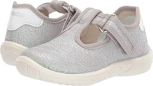 Naturino Baby Girl's Ostuni (Toddler/Little Kid) Silver Glitter 24 M EU