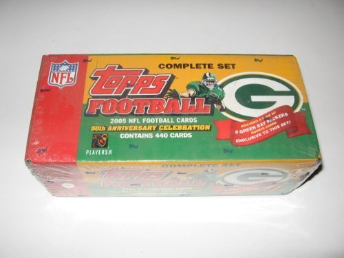 2005 Topps NFL Football Factory Set (Green Bay Packers version) (2005 Topps Factory Set)