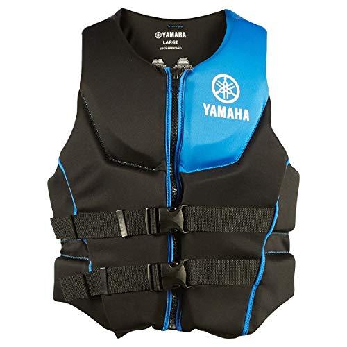 OEM Yamaha Men's Neoprene 2-Buckle PFD Life Jacket Vest (Blue,Medium)