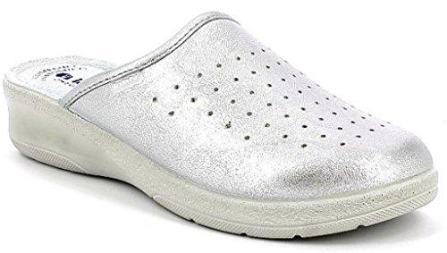 Ciabatte Donna Pantofole Da Inblu Mod50 Argento Sanitarie 33 rCxBeEdoQW