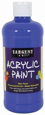 Sargent Art 24-2450 16-Ounce Acrylic Paint, Blue