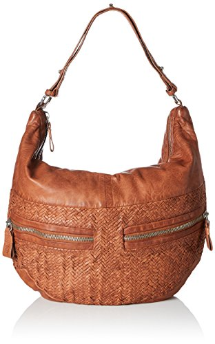 Liebeskind Berlin Women's California Handwoven Leather Hobo, Cherokee Orange by Liebeskind Berlin