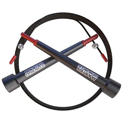 Master of Muscle WOD Whipper Cuerda para Saltar de Cable de Alta